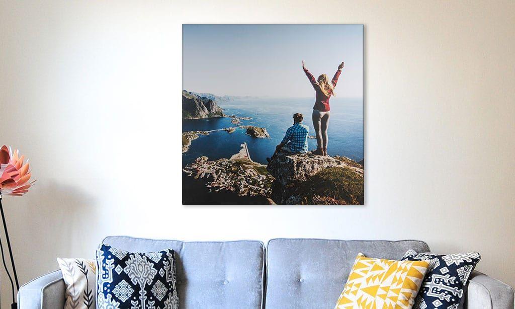 Lass dein Foto auf Leinwand drucken